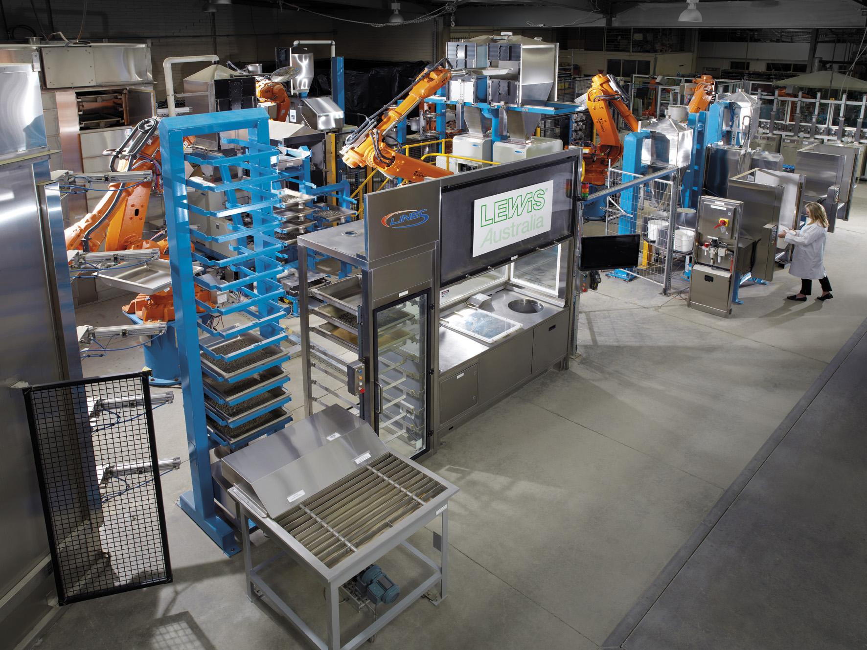 Line 5: Lab Sampling Automation