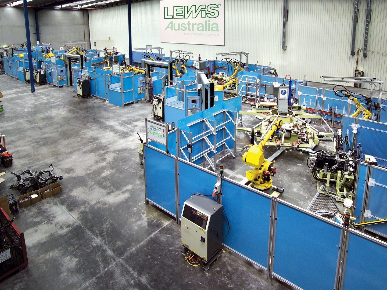 Sub-Frame Welding Facility