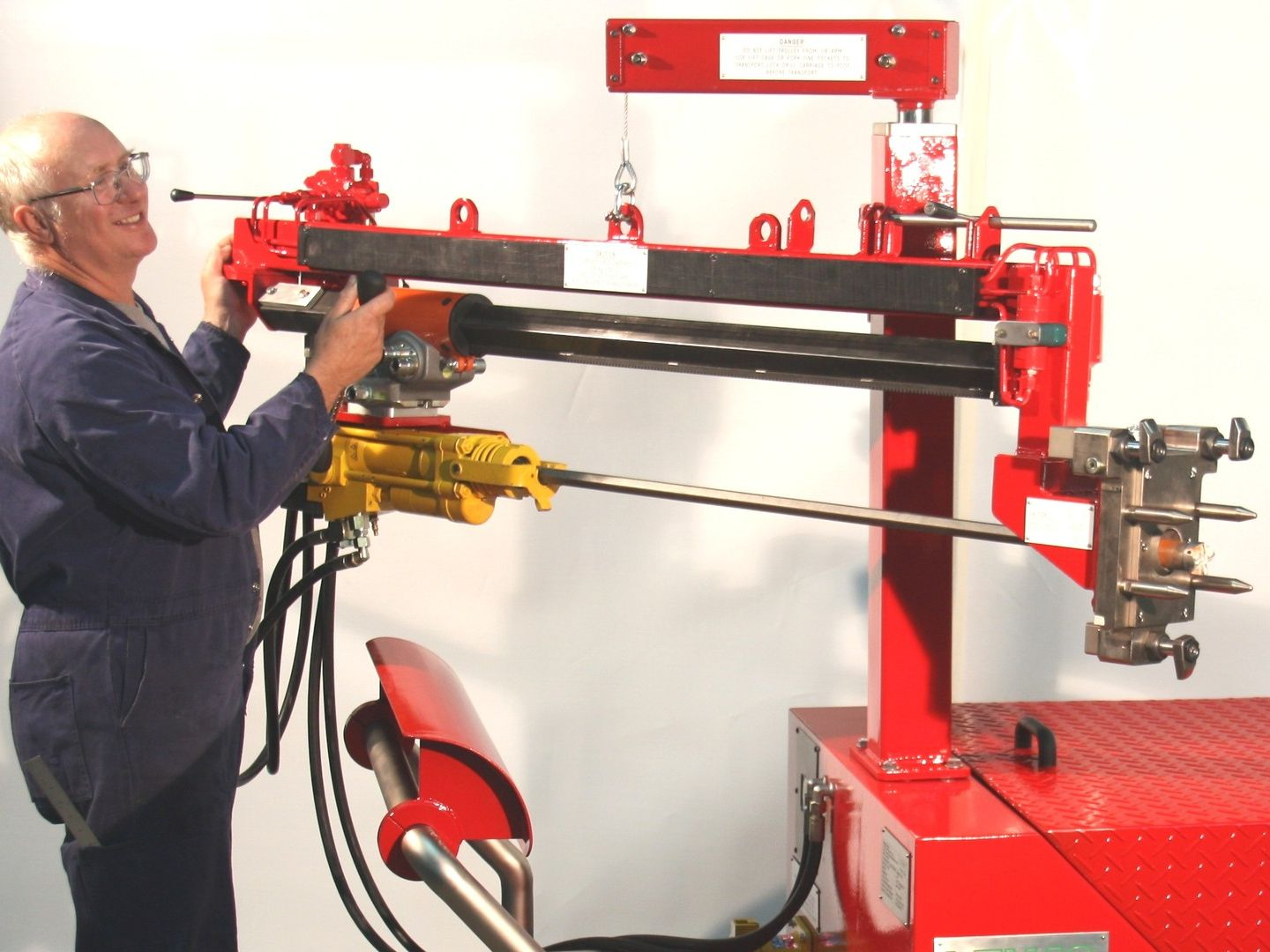 Tuyere Drilling Machine