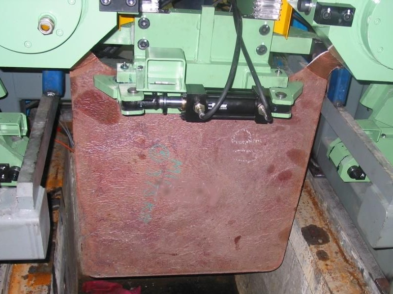 Copper Anode Milling Machine